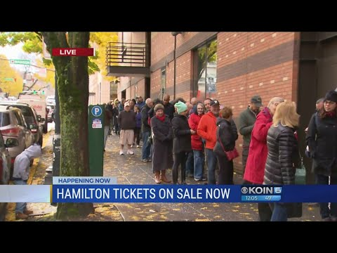 Thousands in Portland rush to get Hamilton tickets