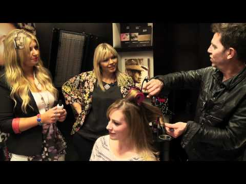 Red Carpet Hair for the BAFTAs with Kate Thornton