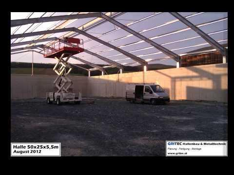 GRITEC Hallenbau 50x25m