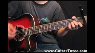 Miley Cyrus - Four Walls, by www.GuitarTutee.com
