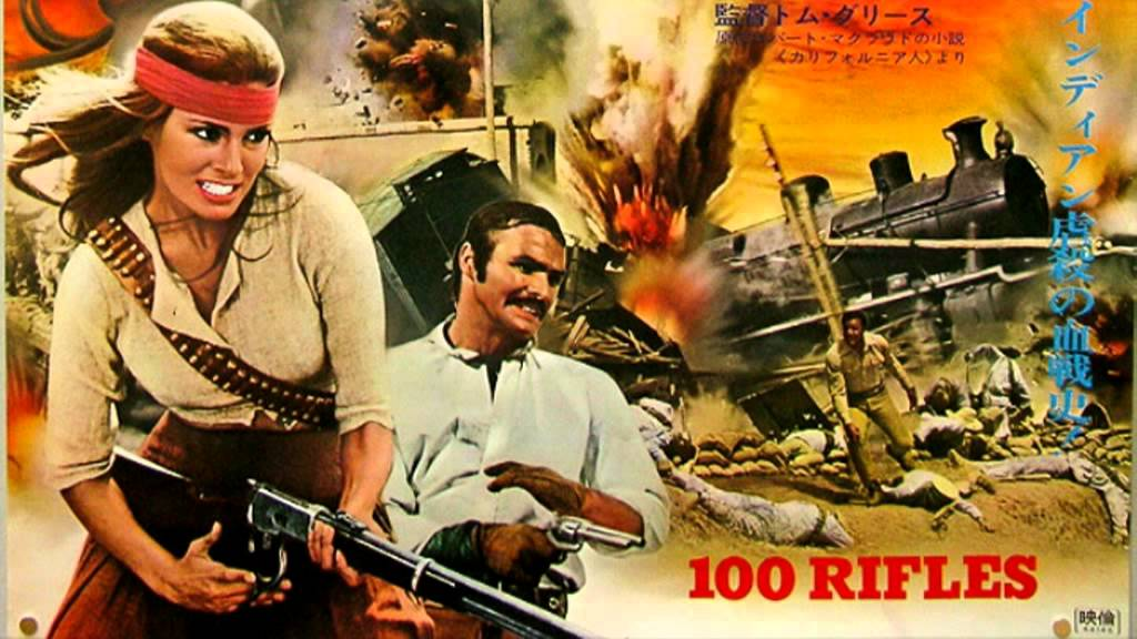 100 Rifles (1969) – Adventure, Romance, War