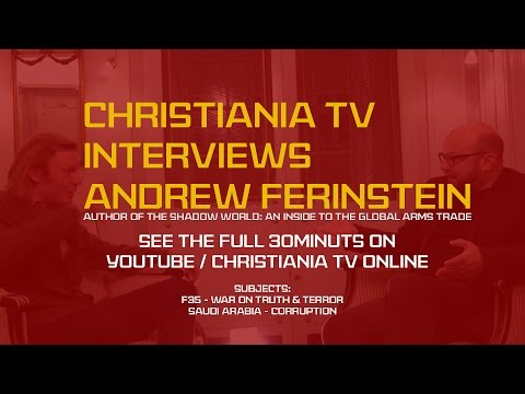 Christiania TV Interviews Andrew Feinstein