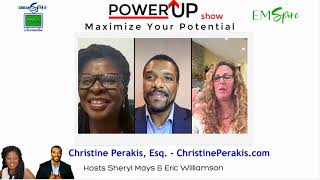"""Premier episode of Power Up """"Maximize Your Potential"""" EM-Spire Magazine on DreamSpire TV"""