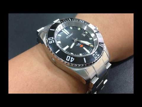 Unboxing of the Ocean7 LM 8 Professional Deep Diver
