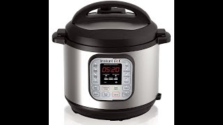Instant Pot DUO60 6 Qt- Product Review