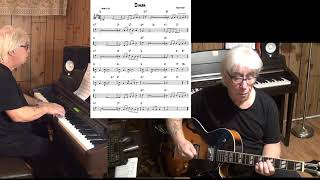 Dinah - Jazz guitar & piano cover ( Harry Akst )