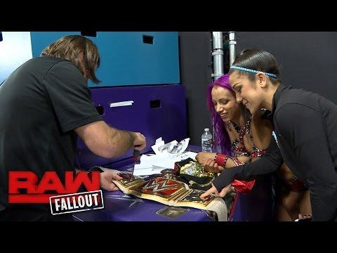 Sasha Banks gets her new Raw Women