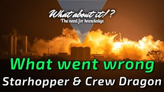 SpaceX Starhopper Burning In Static Fire & Crew Dragon Anomaly Results & Fix!