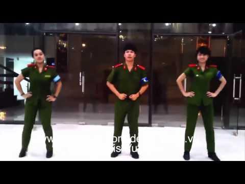 3 Chú Bộ Đội nhảy Bố ơi mình đi đâu thế Cực Kool !Clip hot gây sốt cộng đồng mạng vừa qua
