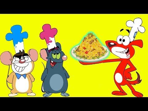 RatATat |'Fine Dine Vs Cooking Catastrophe 1Hour Food Special'| Chotoonz Kids Funny Cartoon Videos