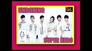 Unboxing - VIXX (빅스) SUPER HERO ALBUM