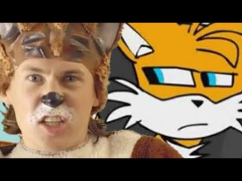 Sonic and Tails sign What does the fox say