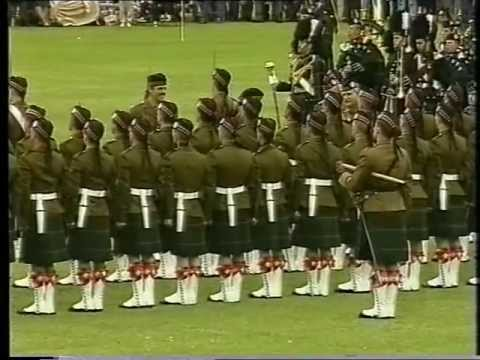 Gordon Highlanders Bicentenary Parade