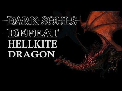 Dark Souls Guide - Easily Defeat Hellkite Dragon (Melee)