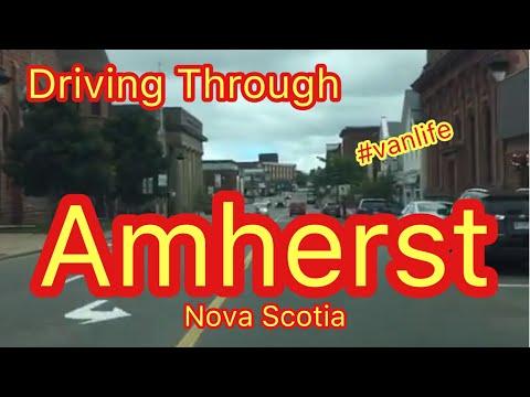 Driving Around Amherst, Nova Scotia… Vanlife