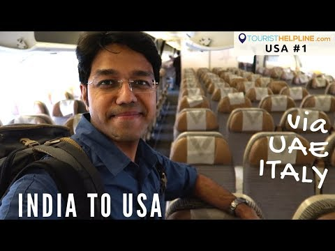 India to USA : My trip begins