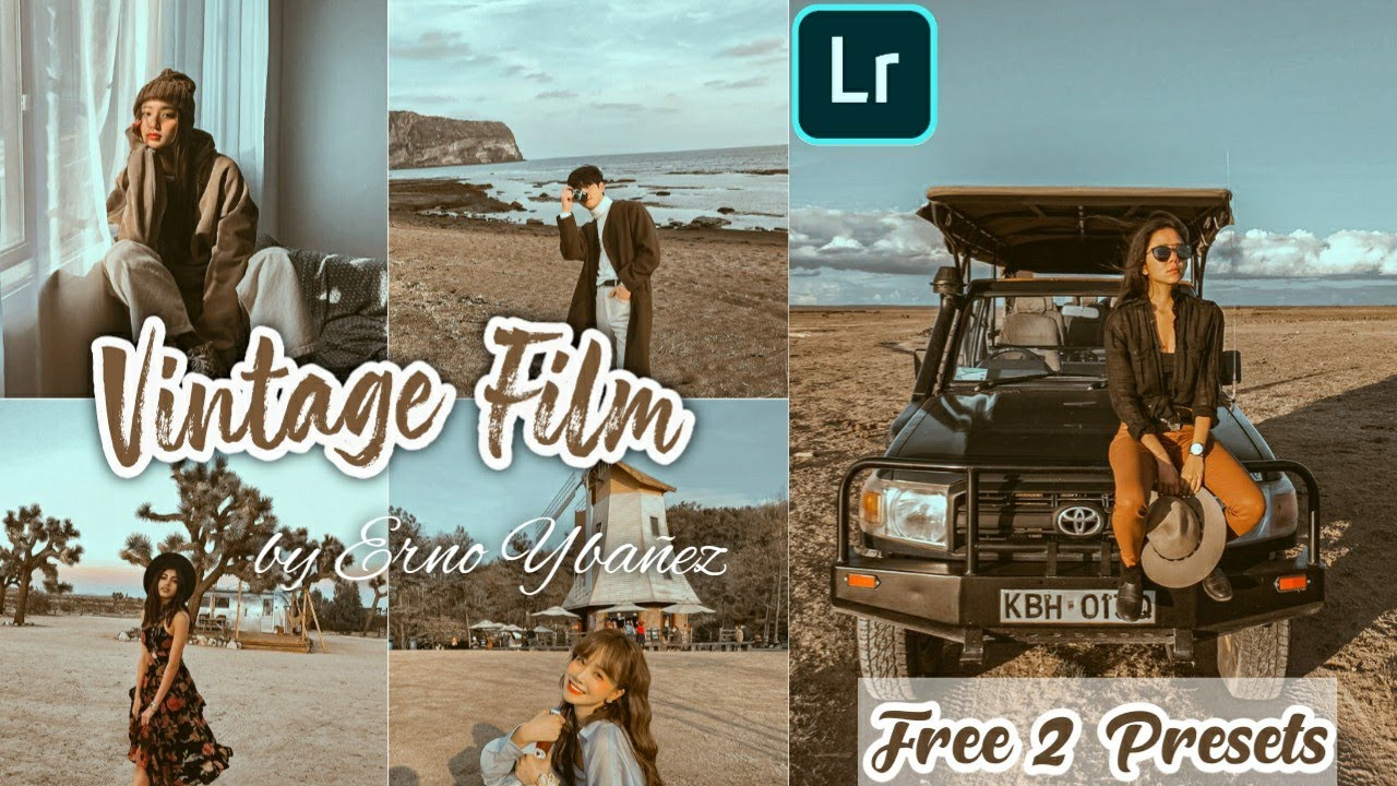Vintage Film Lightroom Preset – How To Edit Vintage Film Preset – Free 2 Film Presets