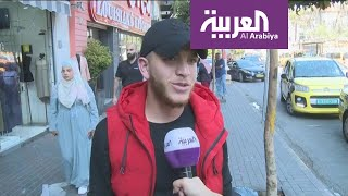 الفلسطينيون مبتهجون بزيارة المنتخب السعودي