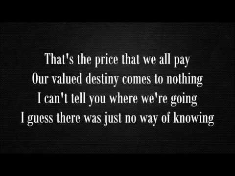 New Order - True Faith (Lyrics)