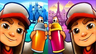 Subway Surfers CHICAGO vs PARIS ipad Gameplay #2