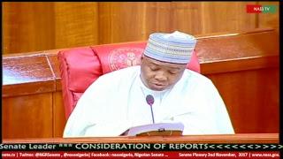 Senate Plenary,2nd November, 2017