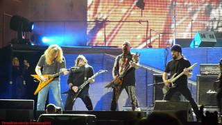 Metallica - Am I Evil BIG 4 Jam Live at Sonisphere Festival Knebworth UK 2011