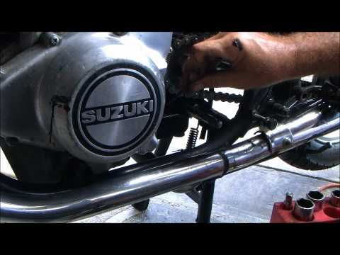 Changing your shift shaft seal on most Suzuki Twins