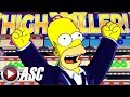 ★DONUTS, SPRINKLES, & A BIG MONORAIL!★ THE SIMPSONS Slot Machine Bonus HIGH ROLLER WIN! (SG)