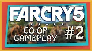 Far Cry 5 Co-op Gameplay (Xbox One) | Part 2 | When Bears Attack