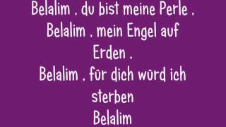 Zcalacee - Belalim  Deutsch  Lyrics  :