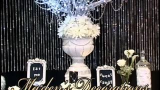 Black & White Wedding Theme by Marlen