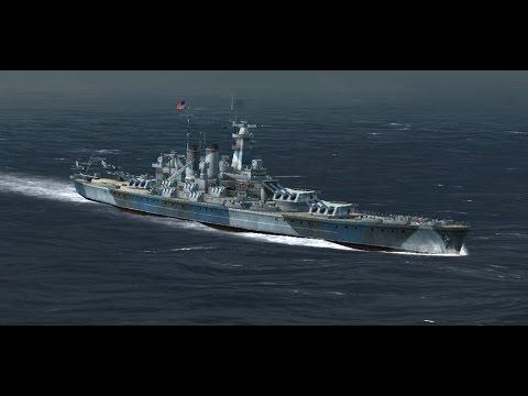 Atlantic Fleet : USS Washigton Vs The Scharnhorst sisters