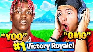 PLAYING with LIL YACHTY in FORTNITE PRO-AM TOURNAMENT! (June 12th E3)
