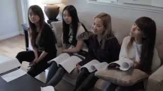 The Wonder Girls Movie Behind The Scenes Episode 1