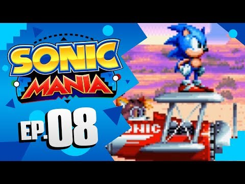 Sonic Mania - Part 8 | Mirage Saloon Zone! [Sonic & Tails Gameplay]