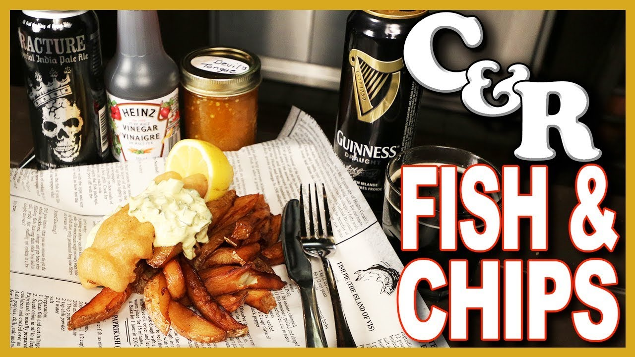 Traditional Fish & Chips Recipe ????  ???? - Cook & Review Ep #55