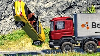 Slow Motion Crashes #1 - BeamNG Drive