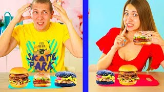 TELEPATHY Burger challenge GUESS If you Can ! Do not Guess - LOST