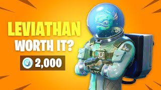 Is LEVIATHAN Skin Worth it? Fortnite Battle Royale Daily Items Update