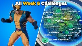 Fortnite All Week 6 Challenges Guide (Fortnite Chapter 2 Season 4)