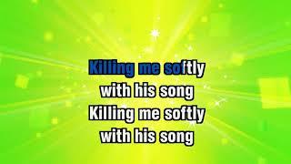 Roberta Flack - Killing Me Softly With His Song - Karaoke Version from Zoom Karaoke