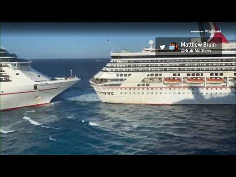 image for Two Carnival Cruise ships collide
