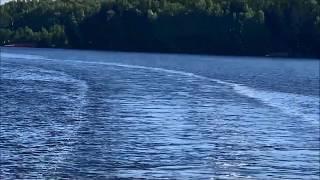 Речные путешествия! По реке Клязьме! Теплоходы! Следы на воде. / Видео