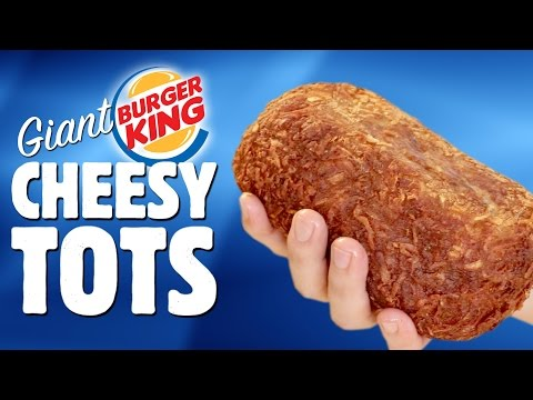 BK CHEESY TOTS RECIPE - Regular & Giant