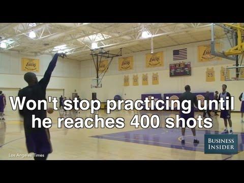Kobe Bryants Insane Work Ethic