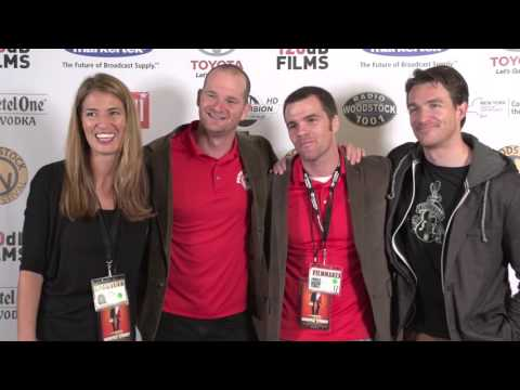 "2015 Woodstock Film Festival: Interview with ""Waffle Street"" Crew"