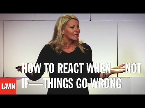 Yvonne Camus: How To React When—Not If—Things Go Wrong