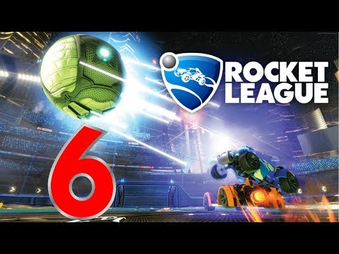 Stuck With Team America! | Rocket League Online #6