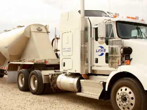 Hauling Frack Sand - Pneumatic Tankers