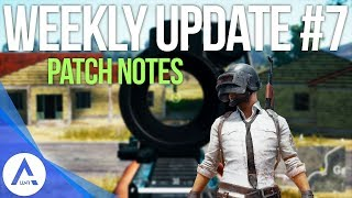 PUBG Xbox: Weekly Update #7 Patch Notes - Vehicle Changes, Input Lag, Inventory Fixes & More!